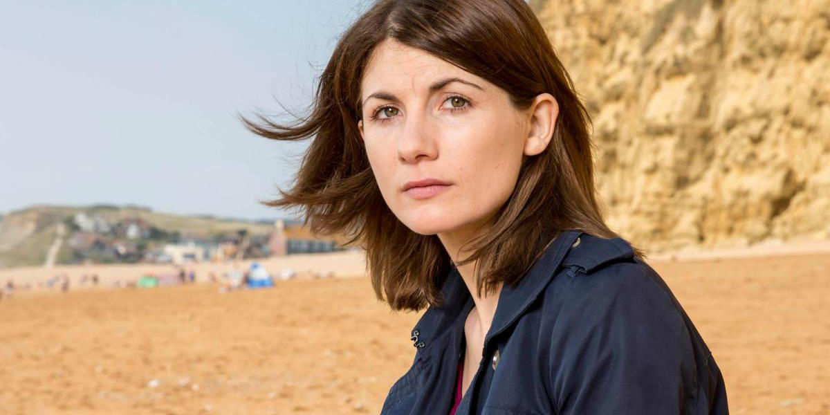 Jodie Whitaker in Broadchurch