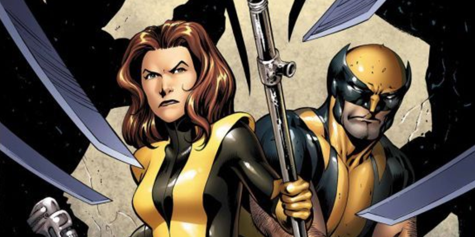 Kitty Pryde and Wolverine Cover By Alan Moore