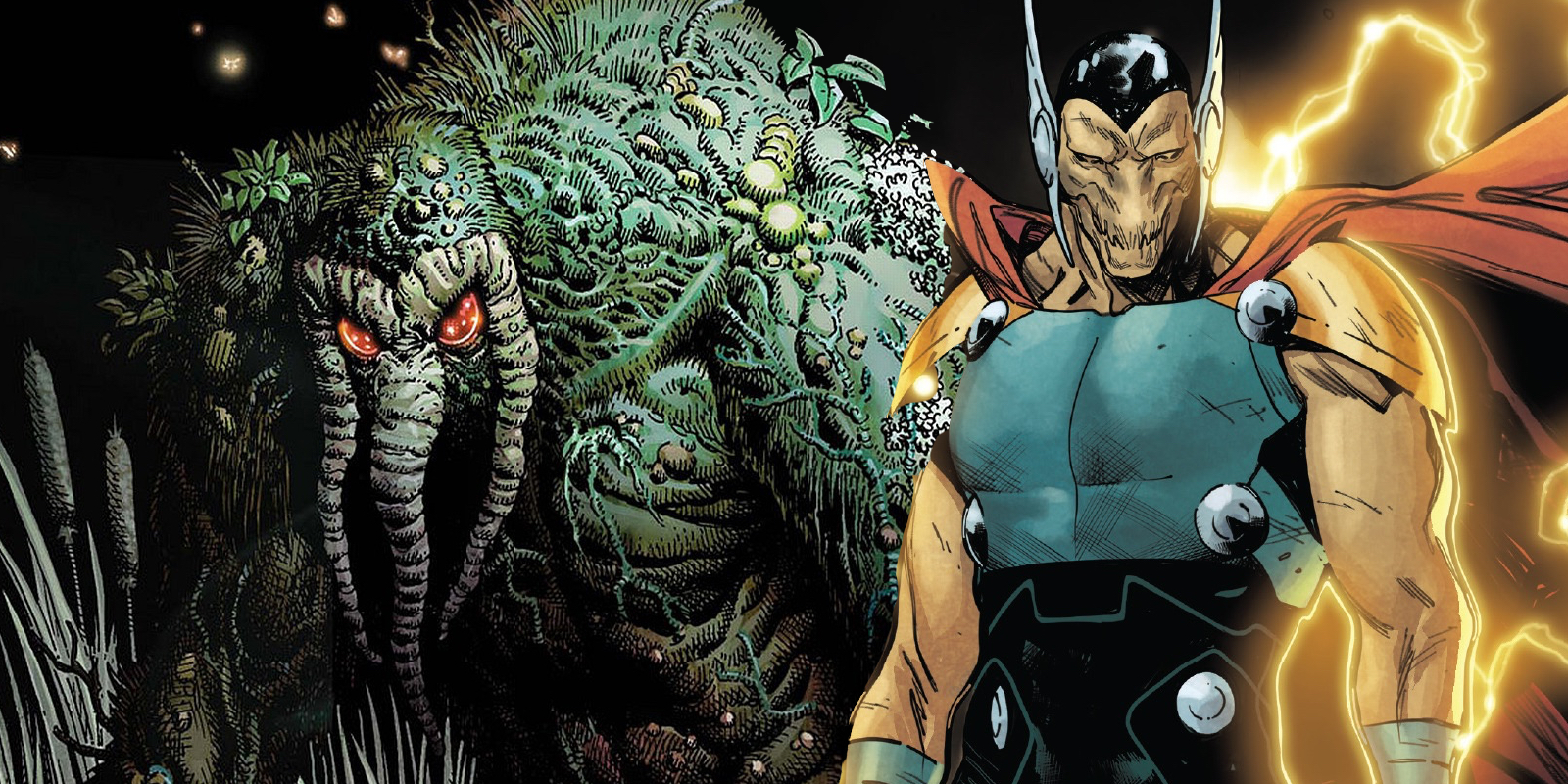 Man-Thing Beta Ray Bill Thor Ragnarok