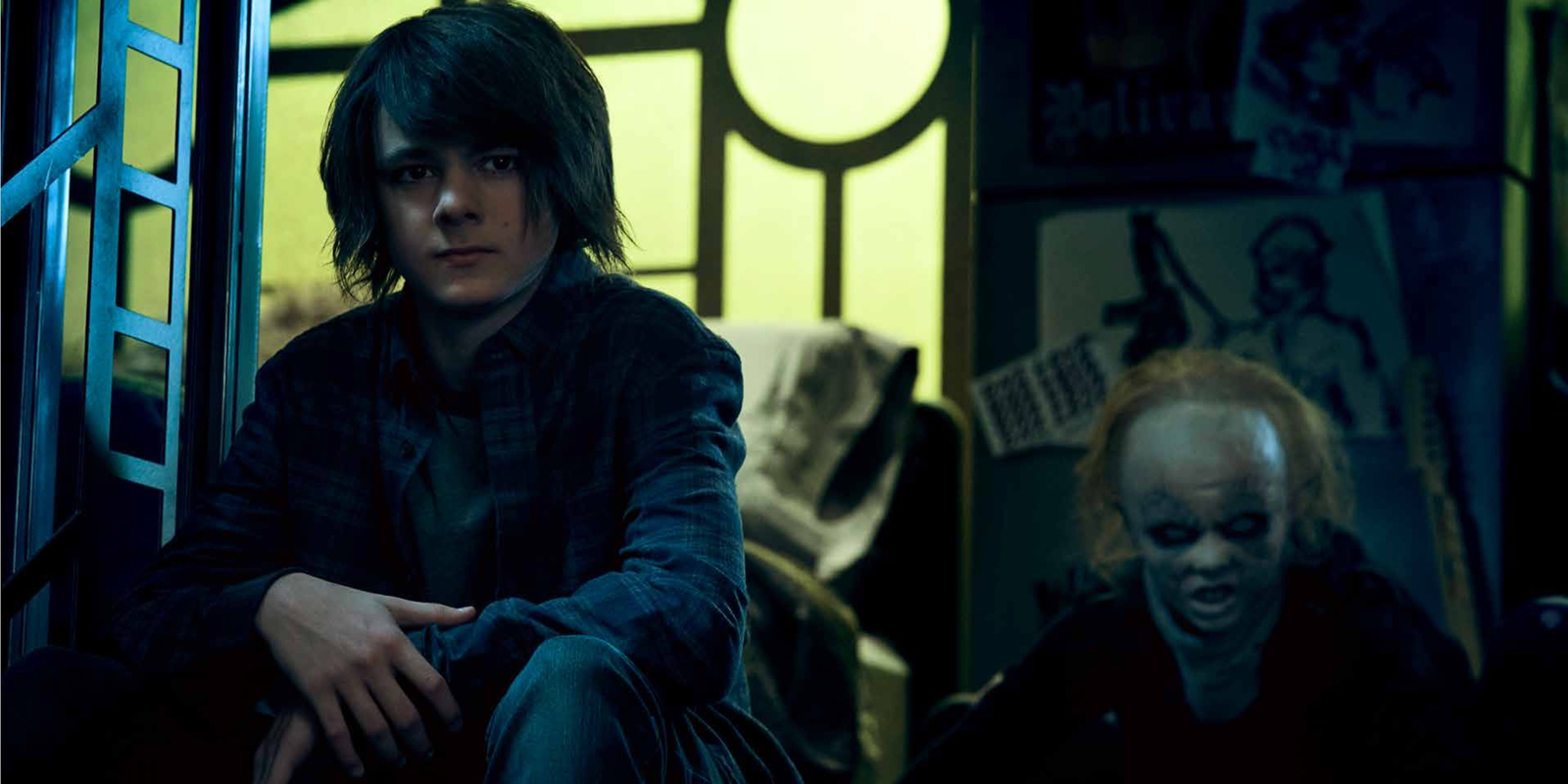 Max Charles as Zack Goodweather in The Strain
