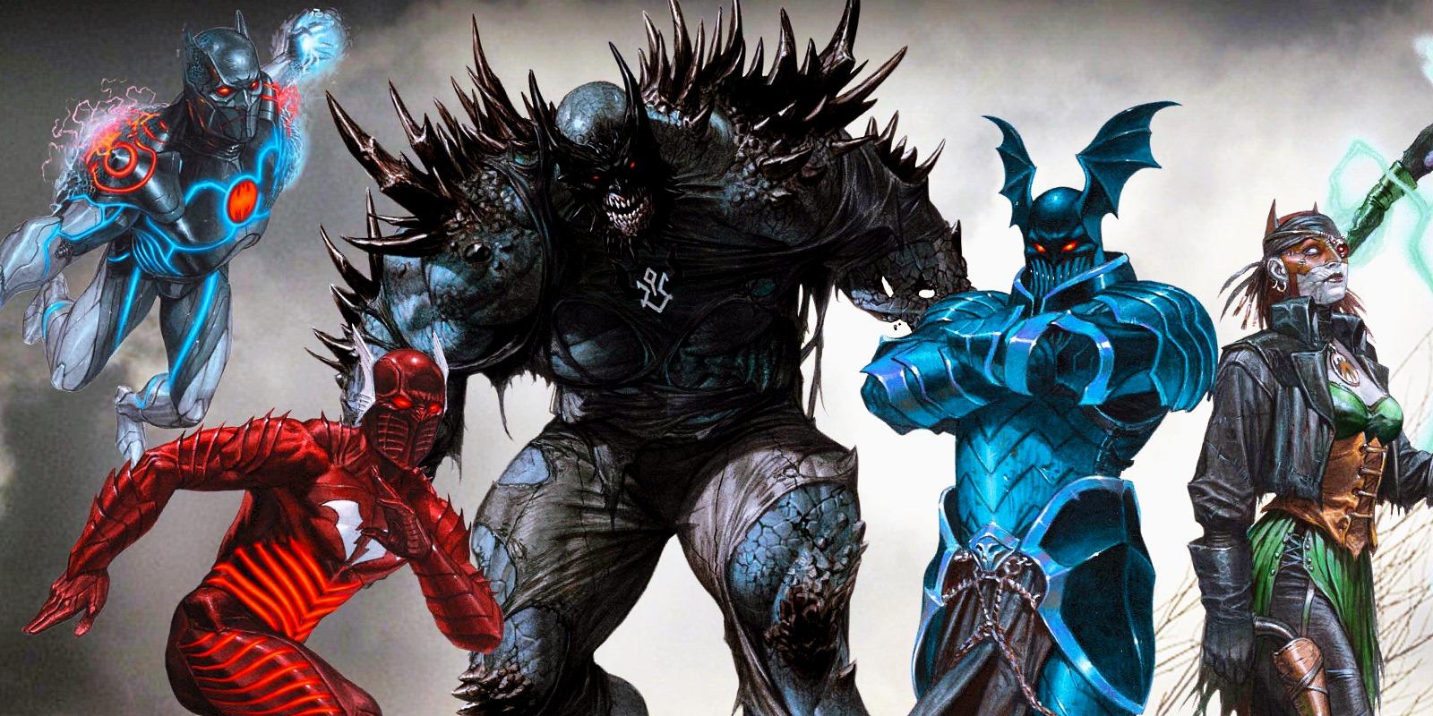 Evil Batmen Of Dc S Metal Revealed Screen Rant