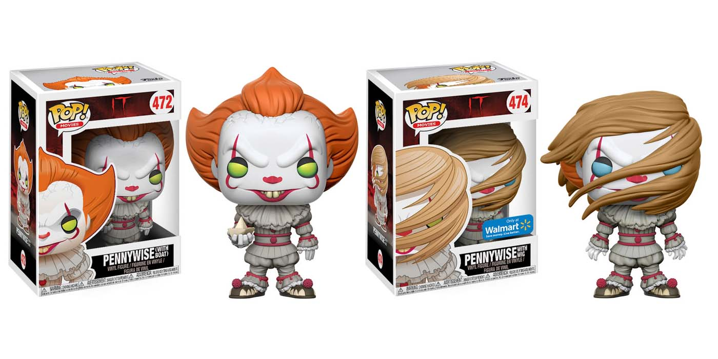 It S Pennywise Gets 4 Different Funko Toys Screen Rant