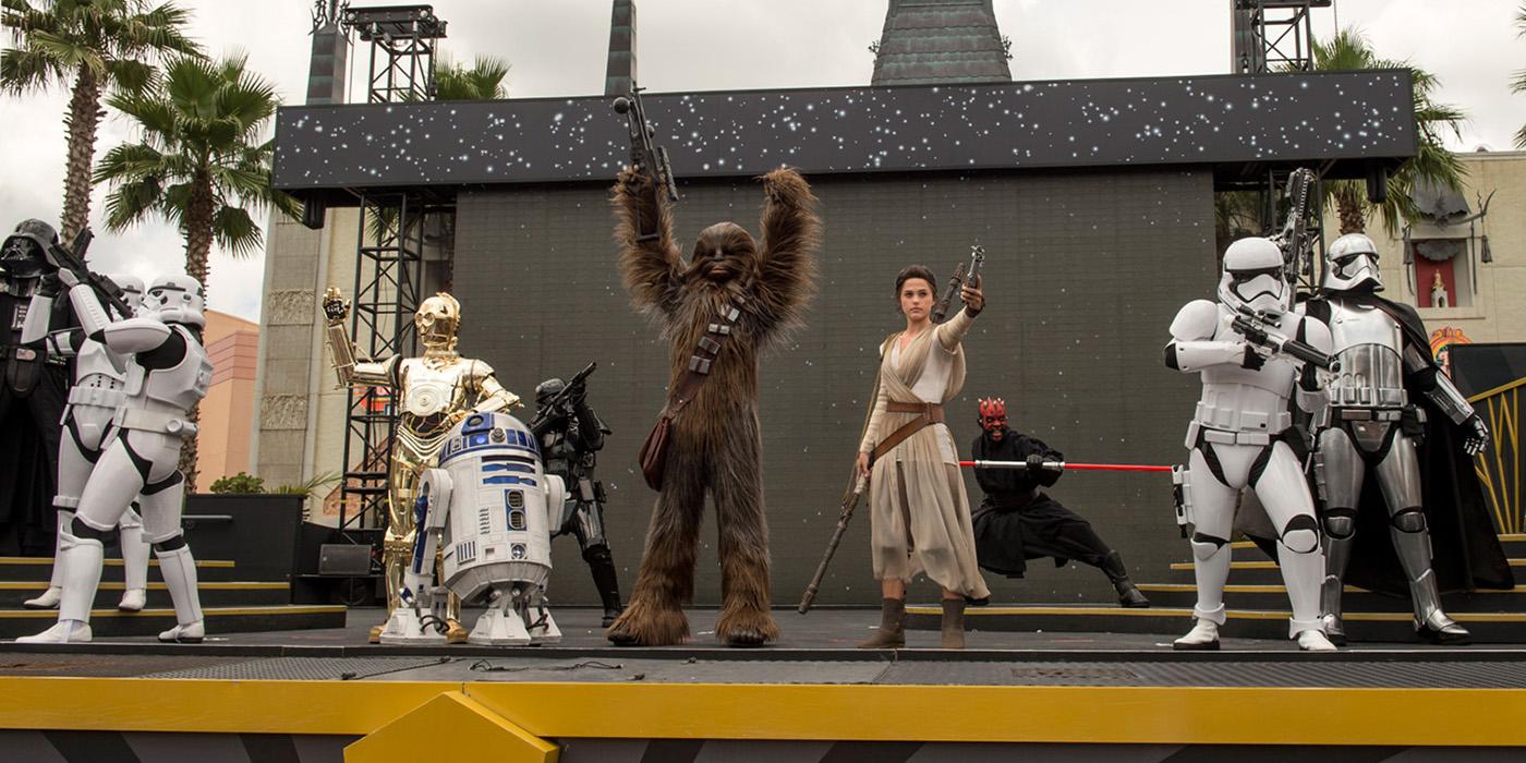 Rey in Star Wars: A Galaxy Far Far Away