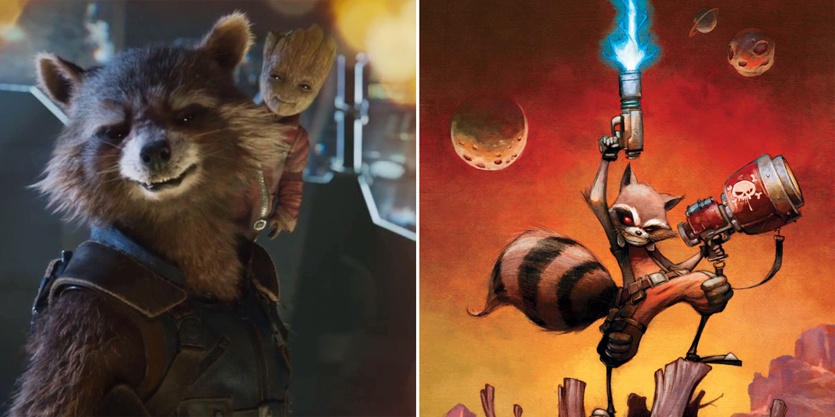 Things You Didn't Know About Rocket Raccoon | Screen Rant