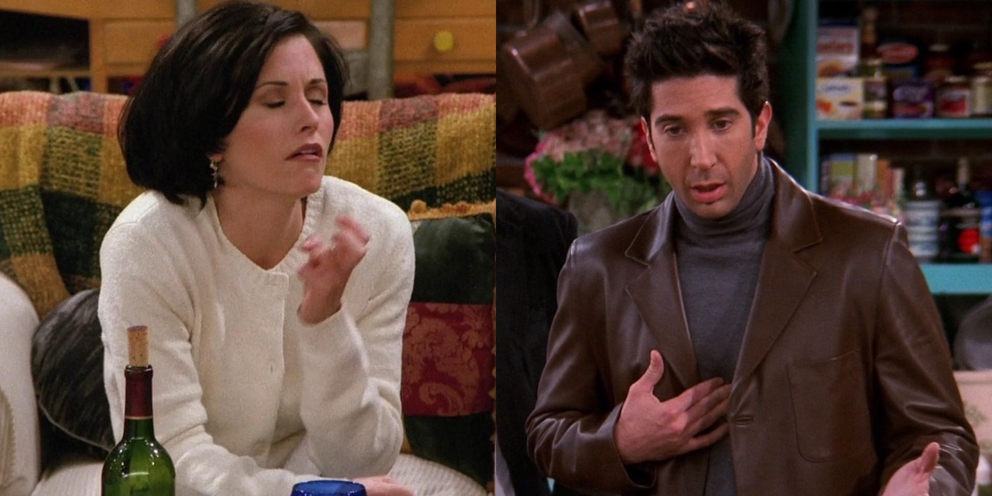 Friends: Creepy Ross And Monica Moments | Screen Rant