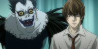 Ryuk and Light Death Note