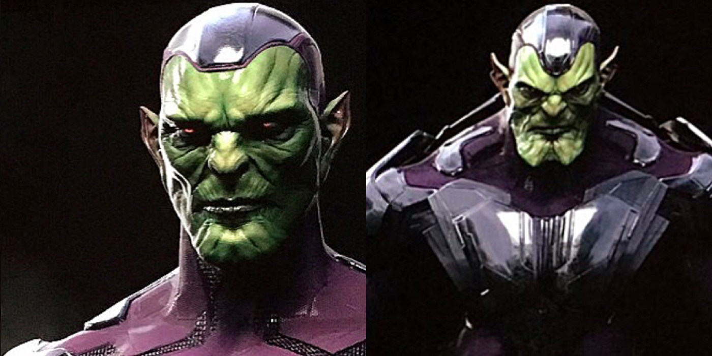 Check Out More Captain Marvel Skrull Artwork Screen Rant