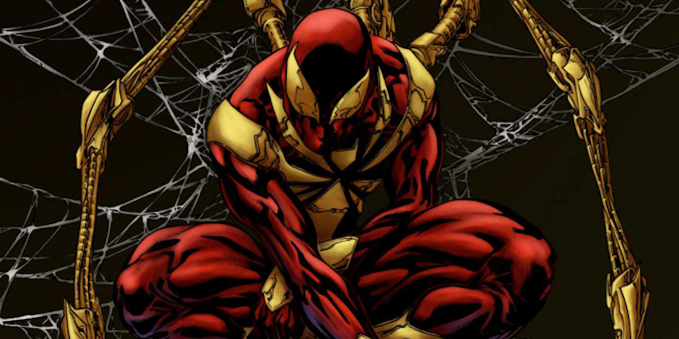 Image result for iron spider