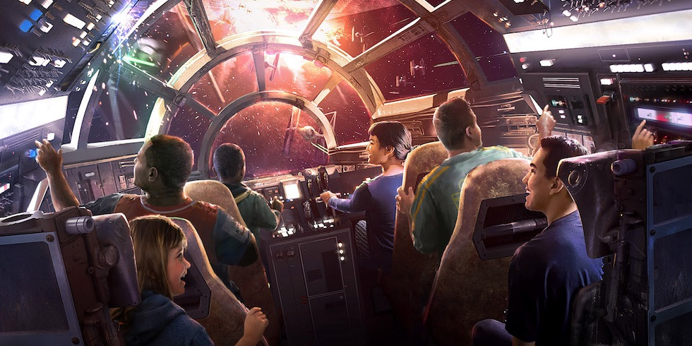 Star Wars Galaxy's Edge Concept Art Disney Parks
