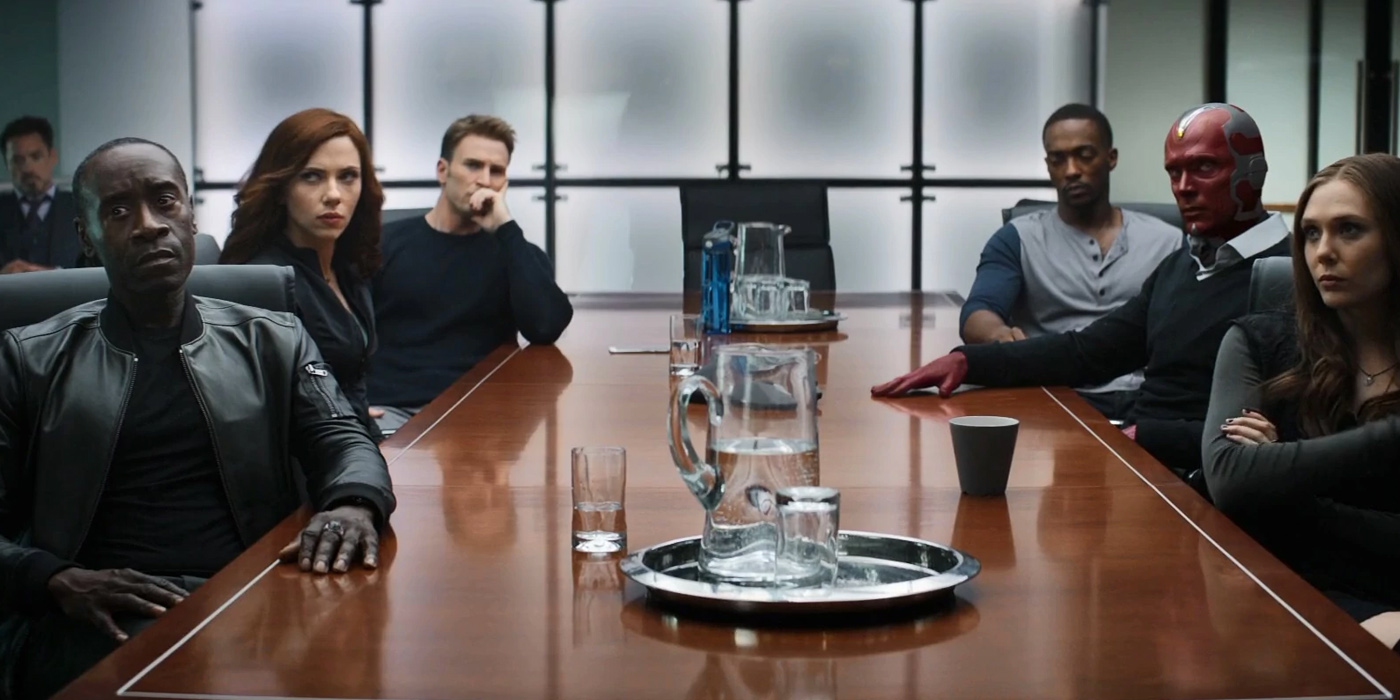 The Avengers in Captain America Civil War