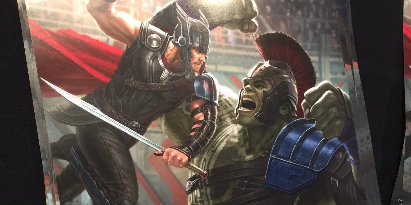Thor: Ragnarok D23 Poster Features Thor u0026 Hulk : Screen Rant