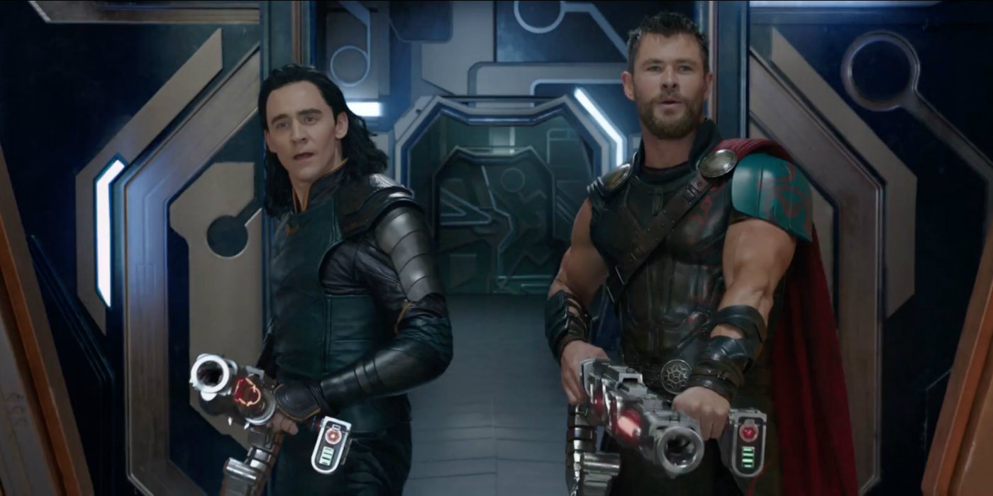 here 39 s why thor uses a gun in ragnarok screen rant