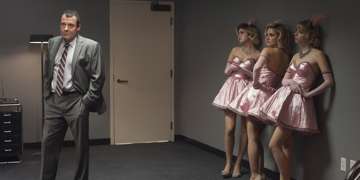Tom Sizemore and Amy Shiels in Twin Peaks Part 10