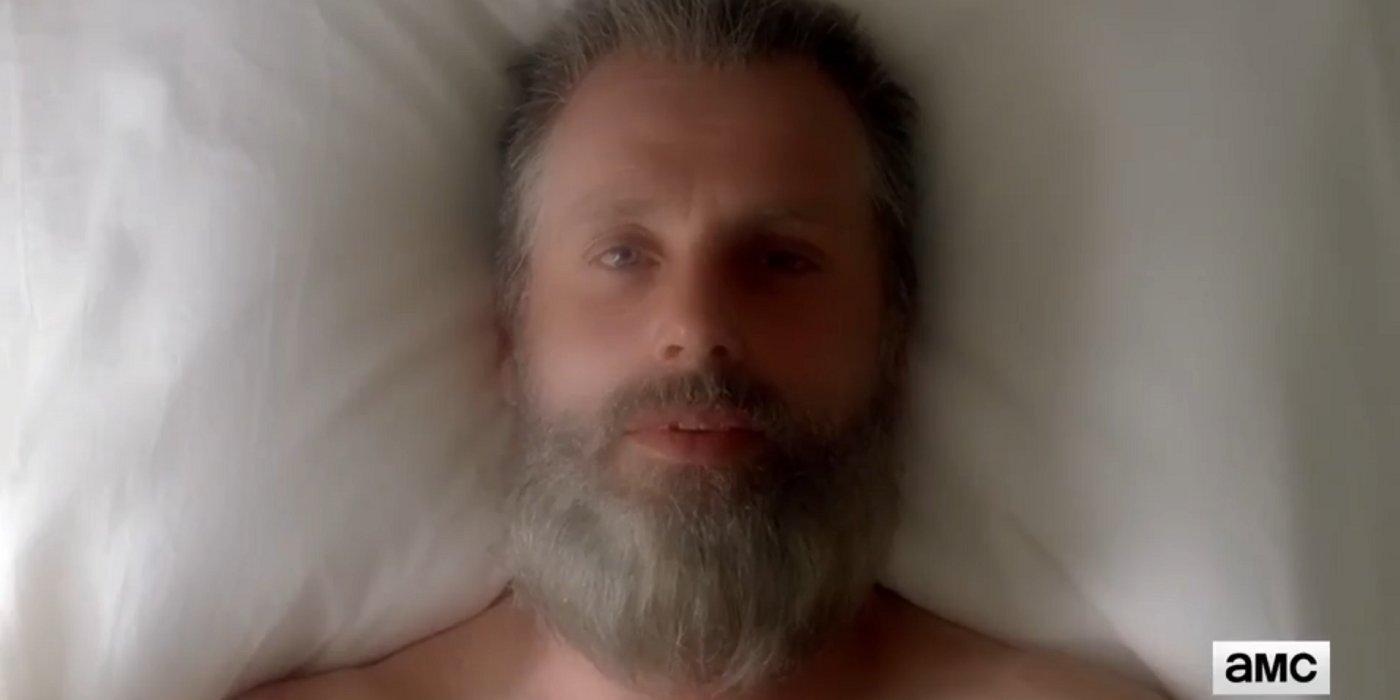 Walking Dead Showrunner Debunks Old Man Rick Fan Theory