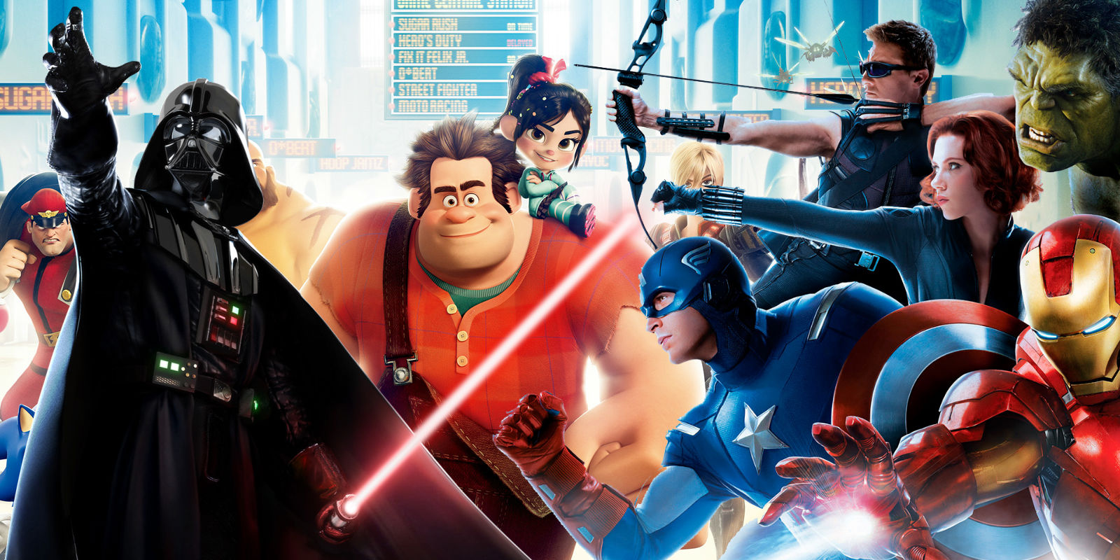 Wreck-It Ralph 2 Star Wars Avengers