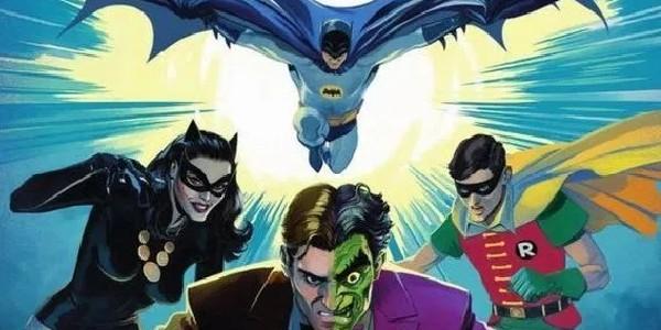 Batman Vs Two Face Header