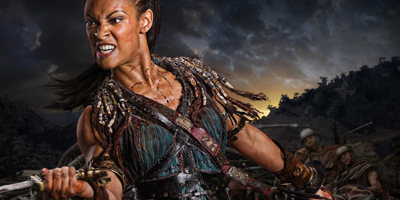 Cynthia Addai-Robinson Spartacus