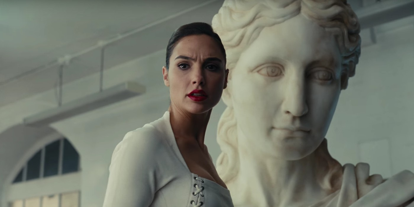 Gal Gadot as Wonder Woman Diana Prince in Justice League