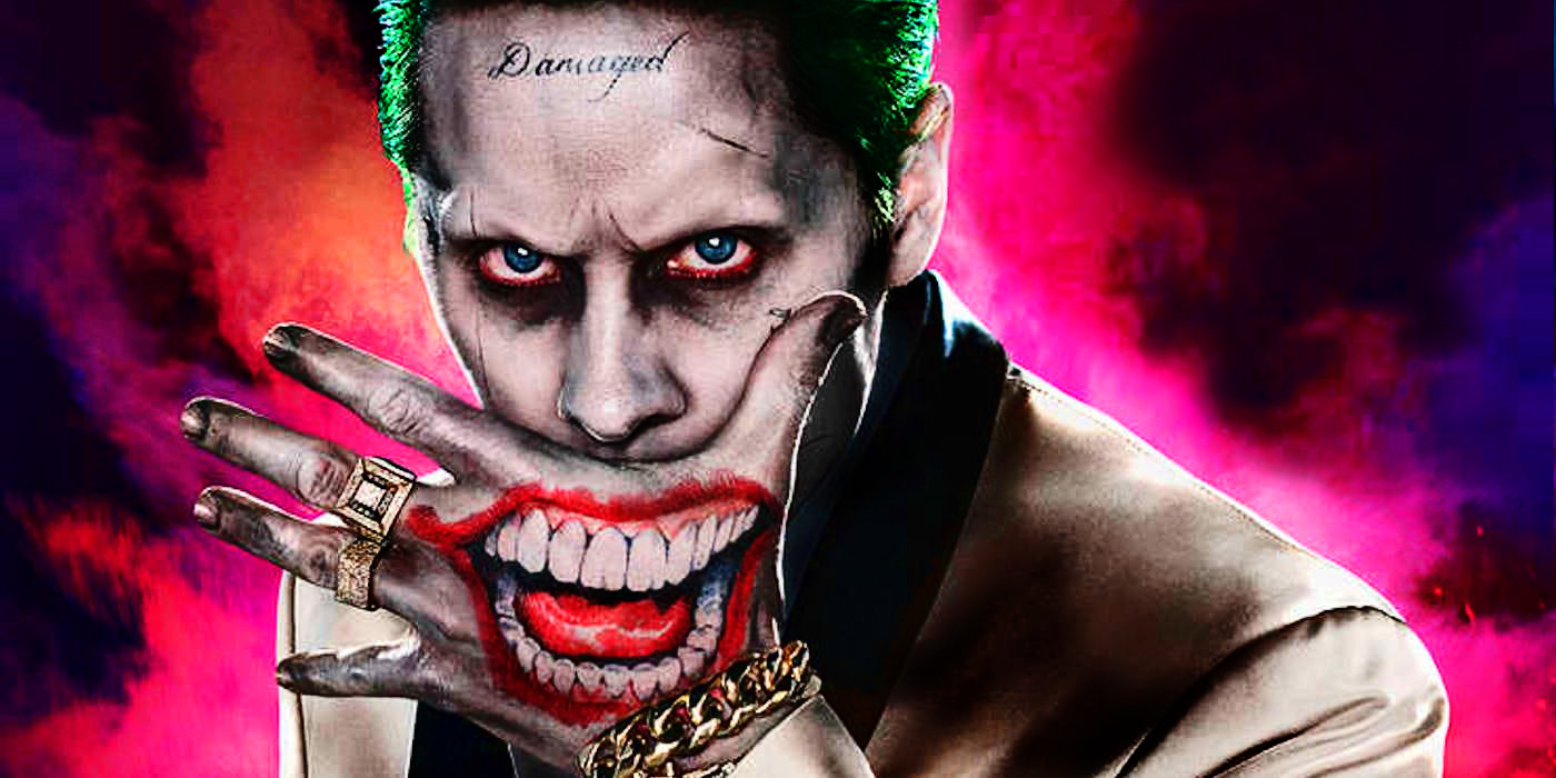 jared leto reacts to joker origin movie screen rant. Black Bedroom Furniture Sets. Home Design Ideas