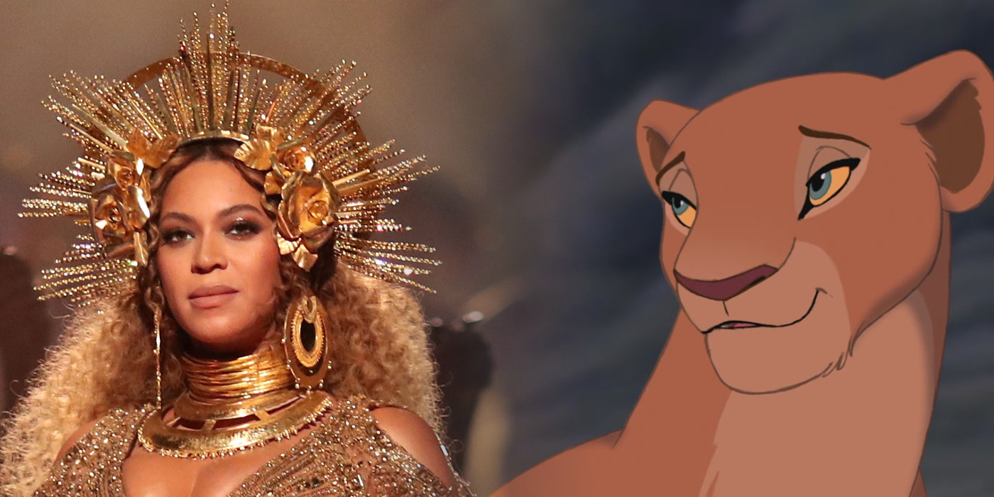 beyonce in talks for major lion king role