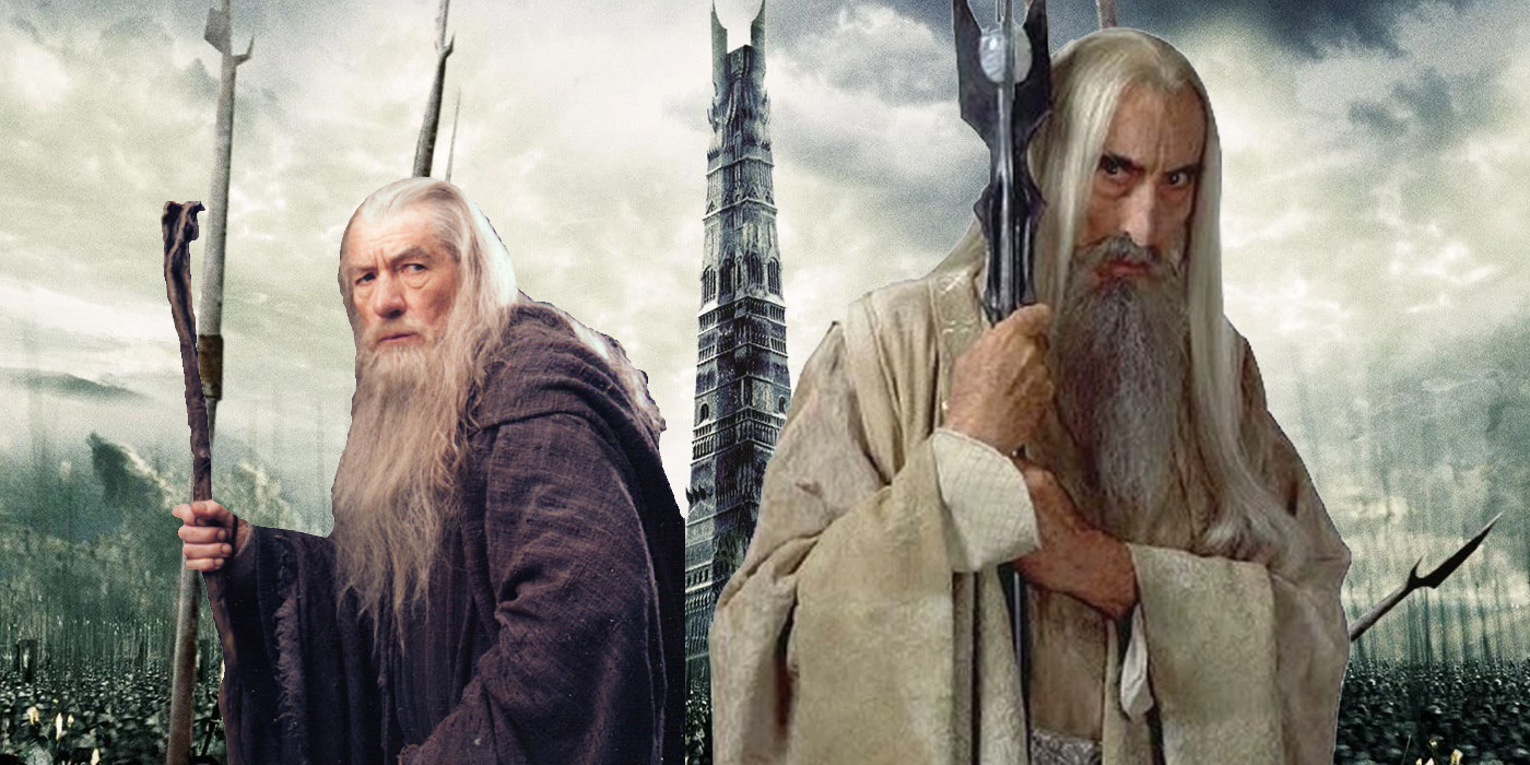 Saruman Lord Of The Rings Wizards