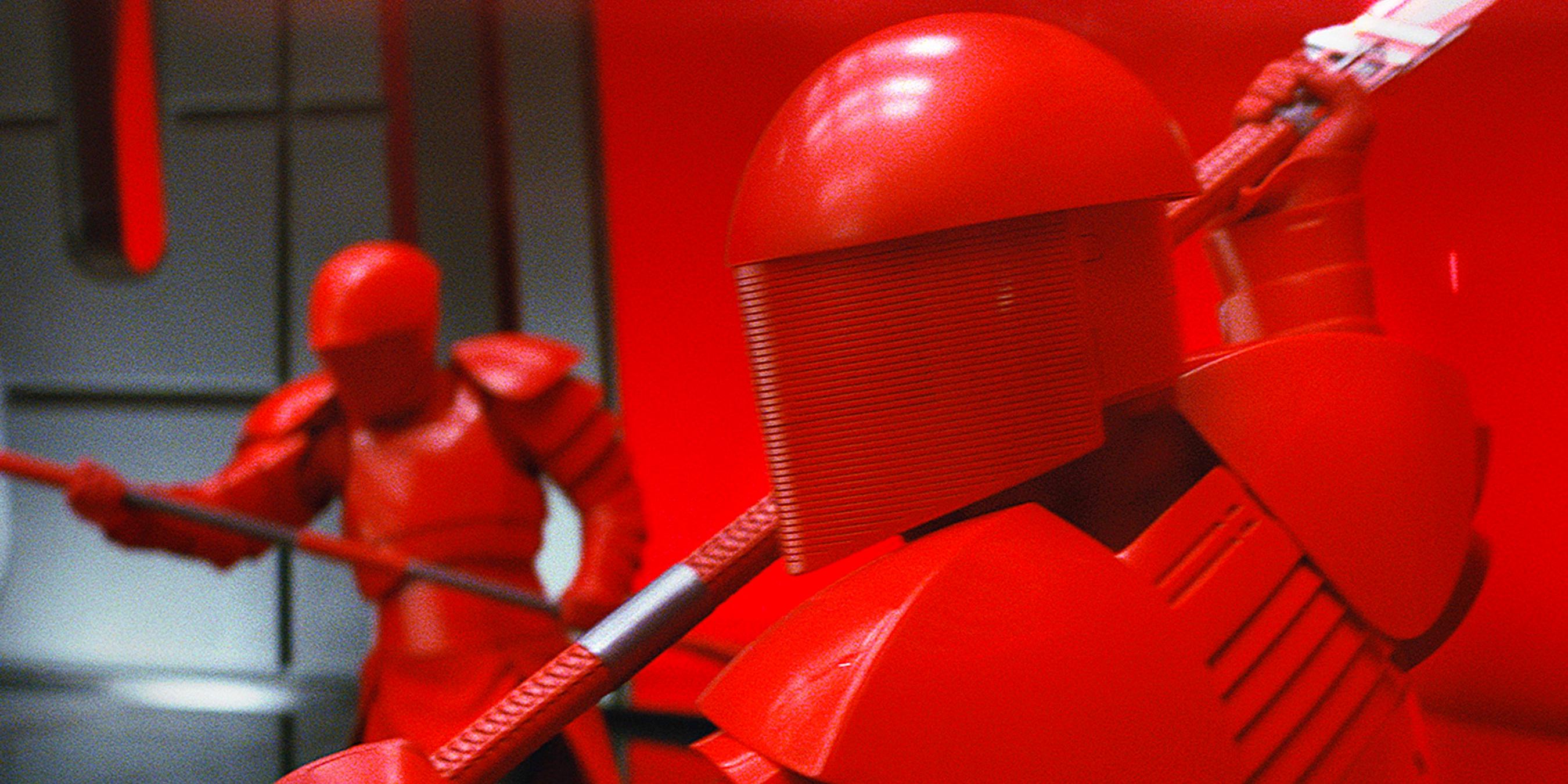 Snoke's Praetorian Guards in Star Wars The Last Jedi