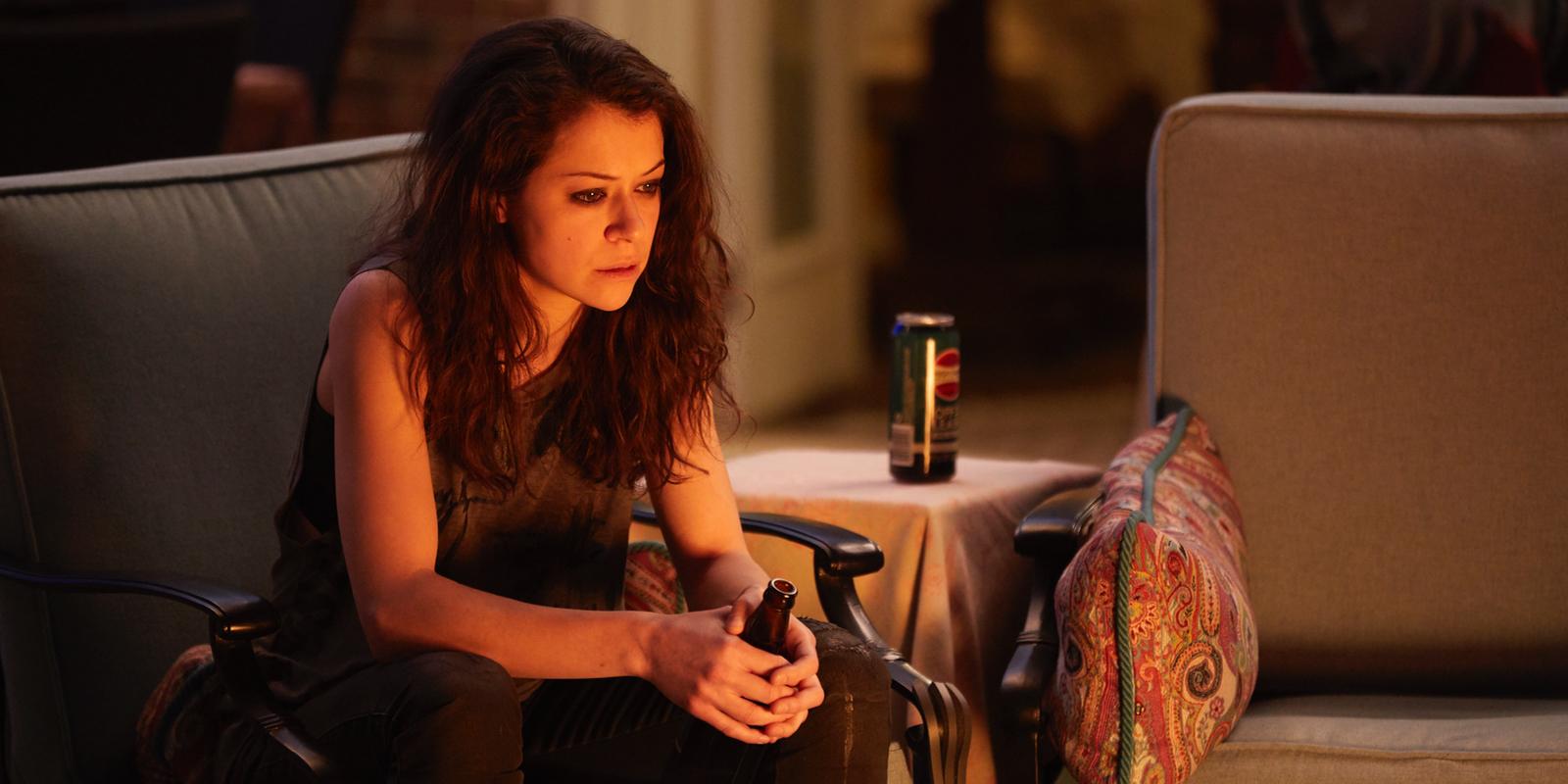 Tatiana Maslany in Orphan Black Series Finale