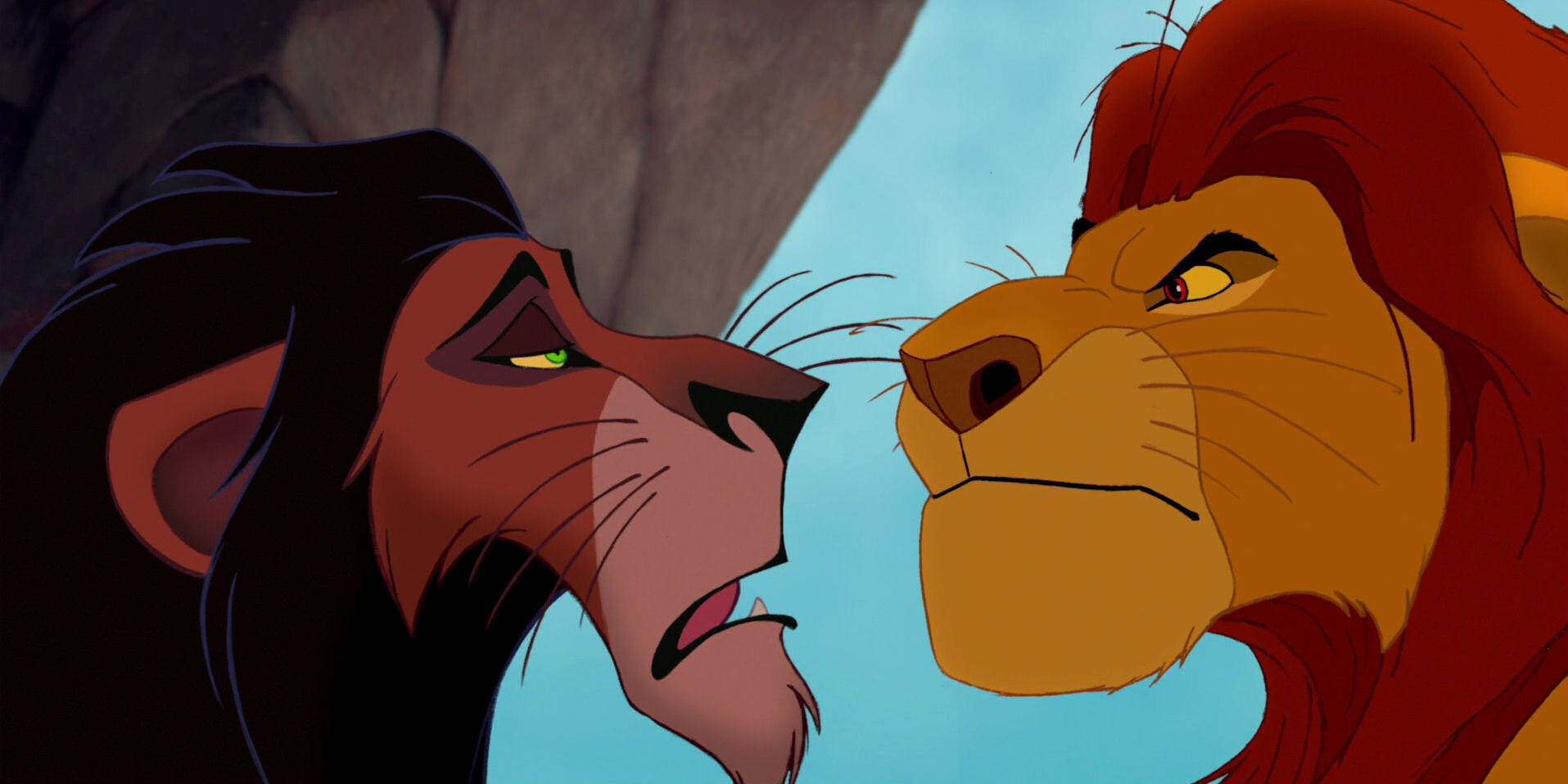 Uncategorized Scar Lion lion king mufasa and scar werent brothers screen rant