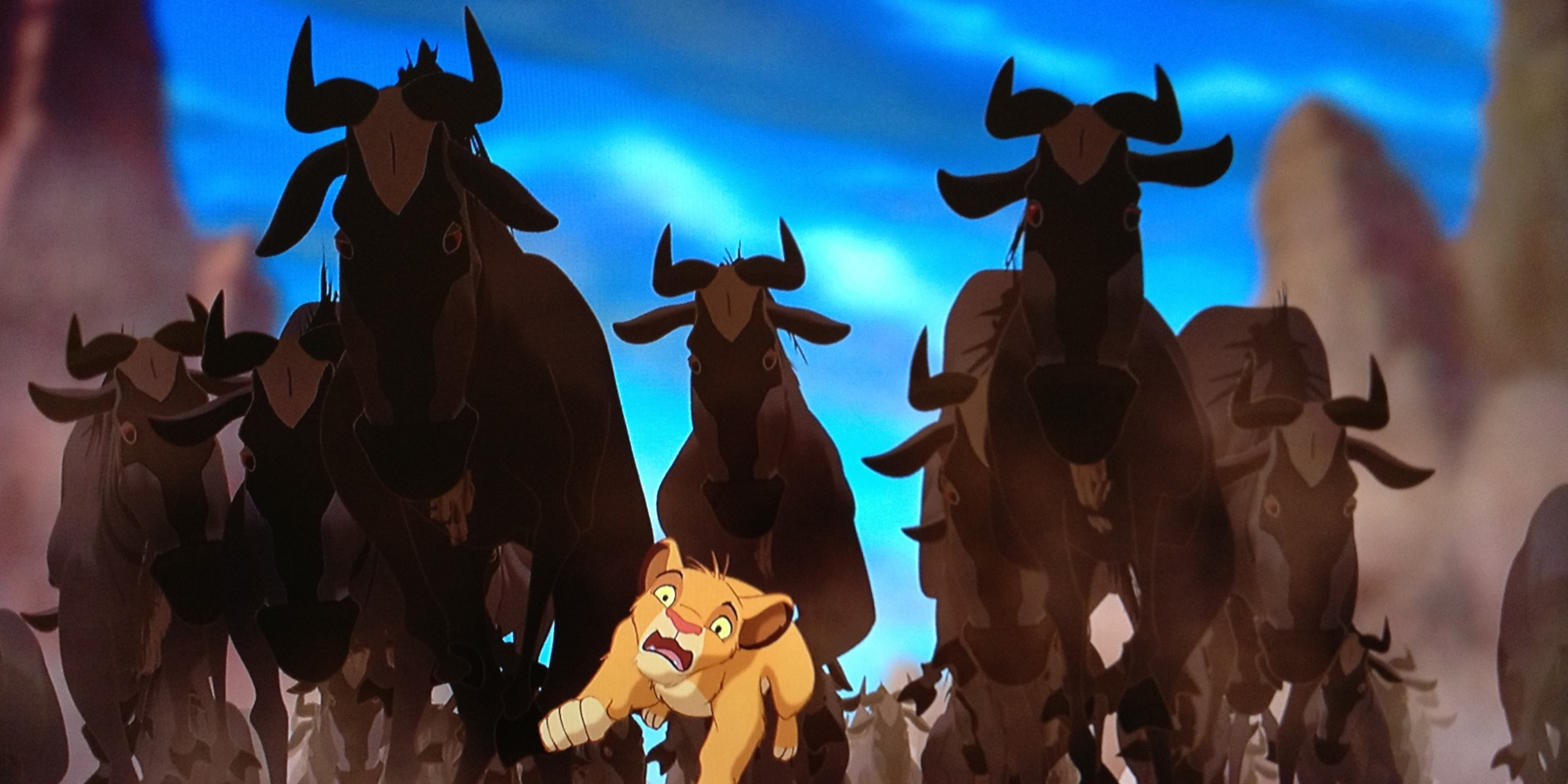 Lion King Stampede Scene Took 3 Years To Make Screen Rant