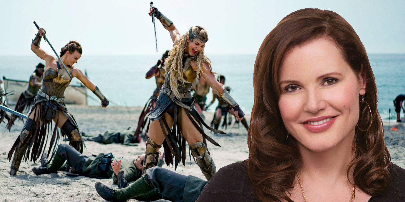 Geena Davis Wants to Appear in Wonder Woman 2