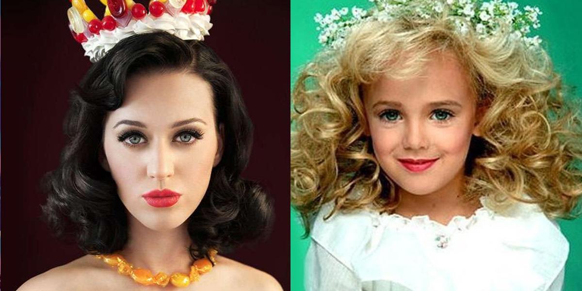 Katy Perry and JonBenet Ramsey