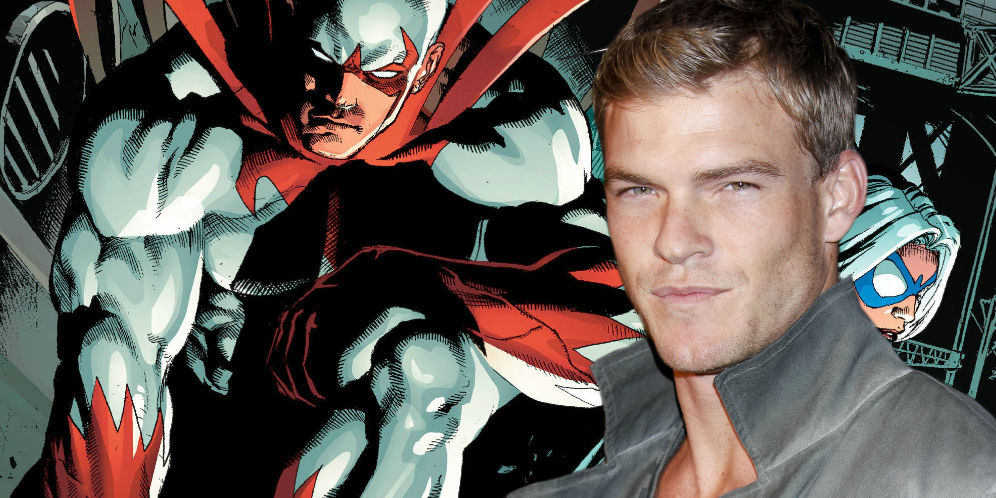 Titans Series Casts Alan Ritchson As Hawk | Screen Rant
