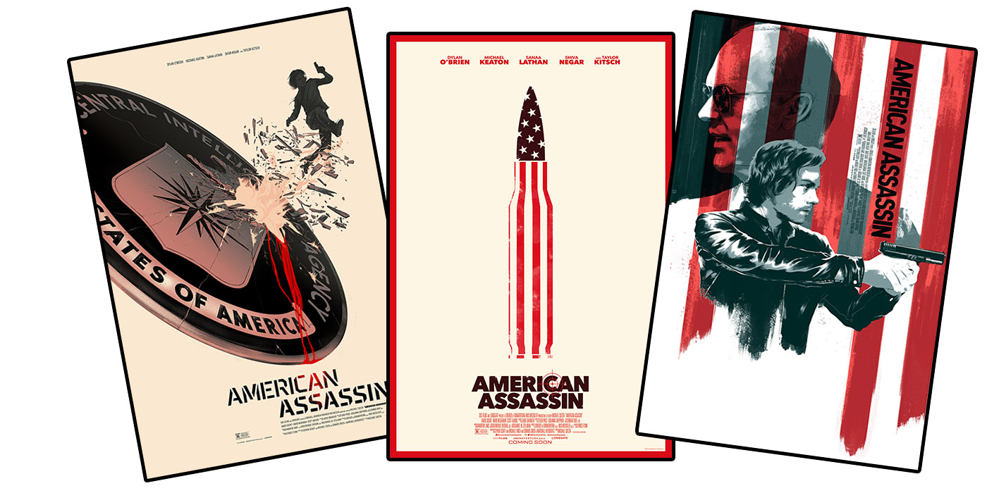 American Assassin Posters Giveaway: Enter To Win These Awesome American Assassin Art Posters