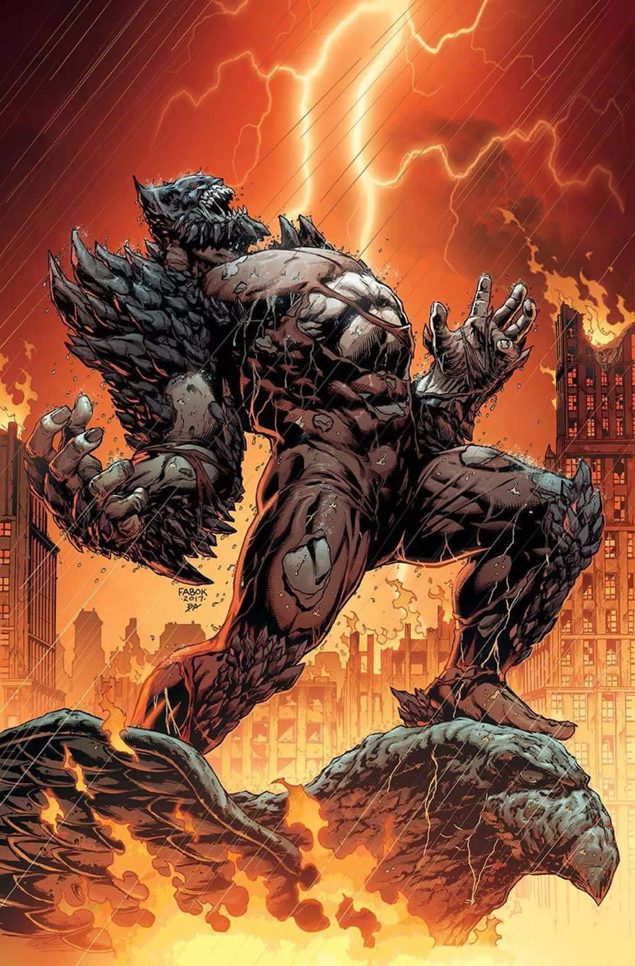 Dc Reveals The Doomsday Batman Screen Rant