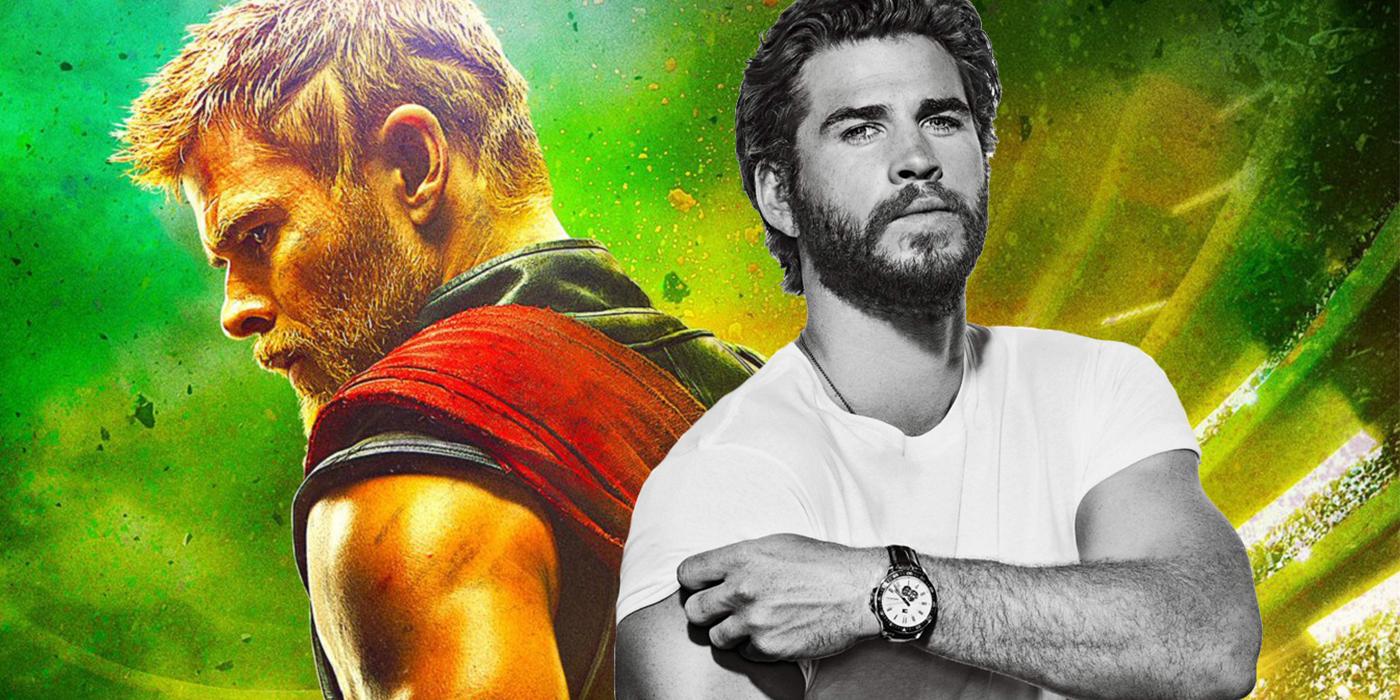 Chris Hemsworth and Liam Hemsworth Thor