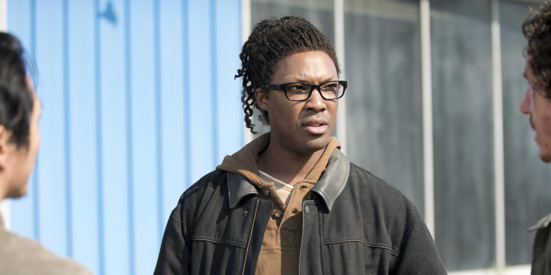 Corey Hawkins as Heath in The Walking Dead