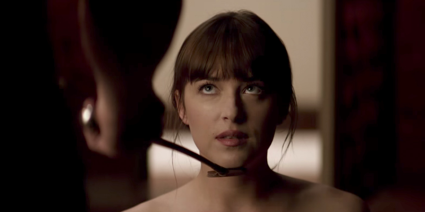 Dakota Johnson as Ana Steele in Fifty Shades Freed