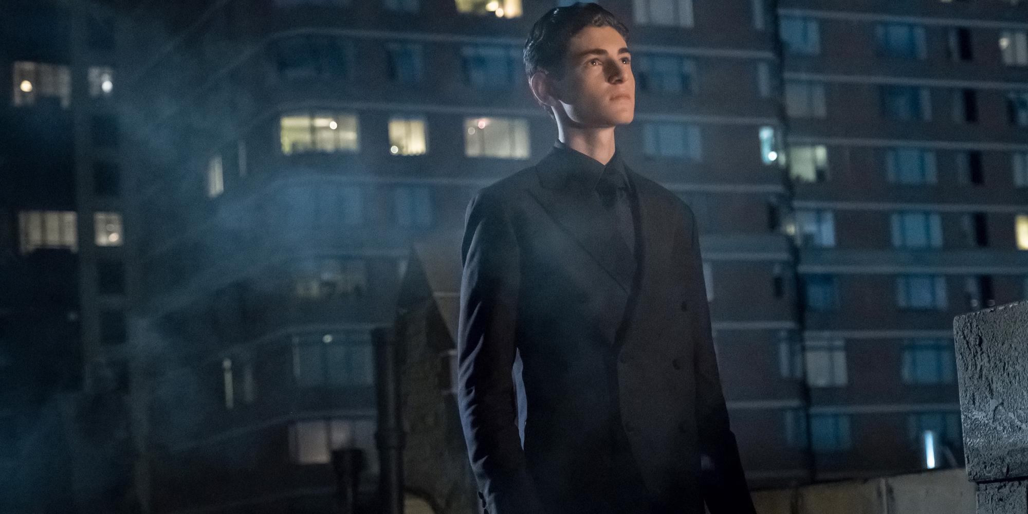 David Mazouz in Gotham Season 4 Episode 1