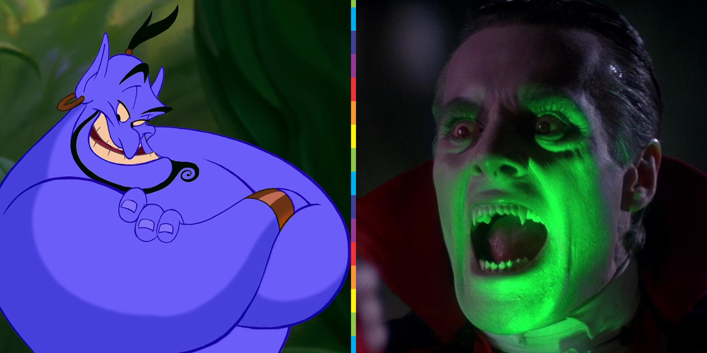Genie from Aladdin Dracula from The Monster Squad