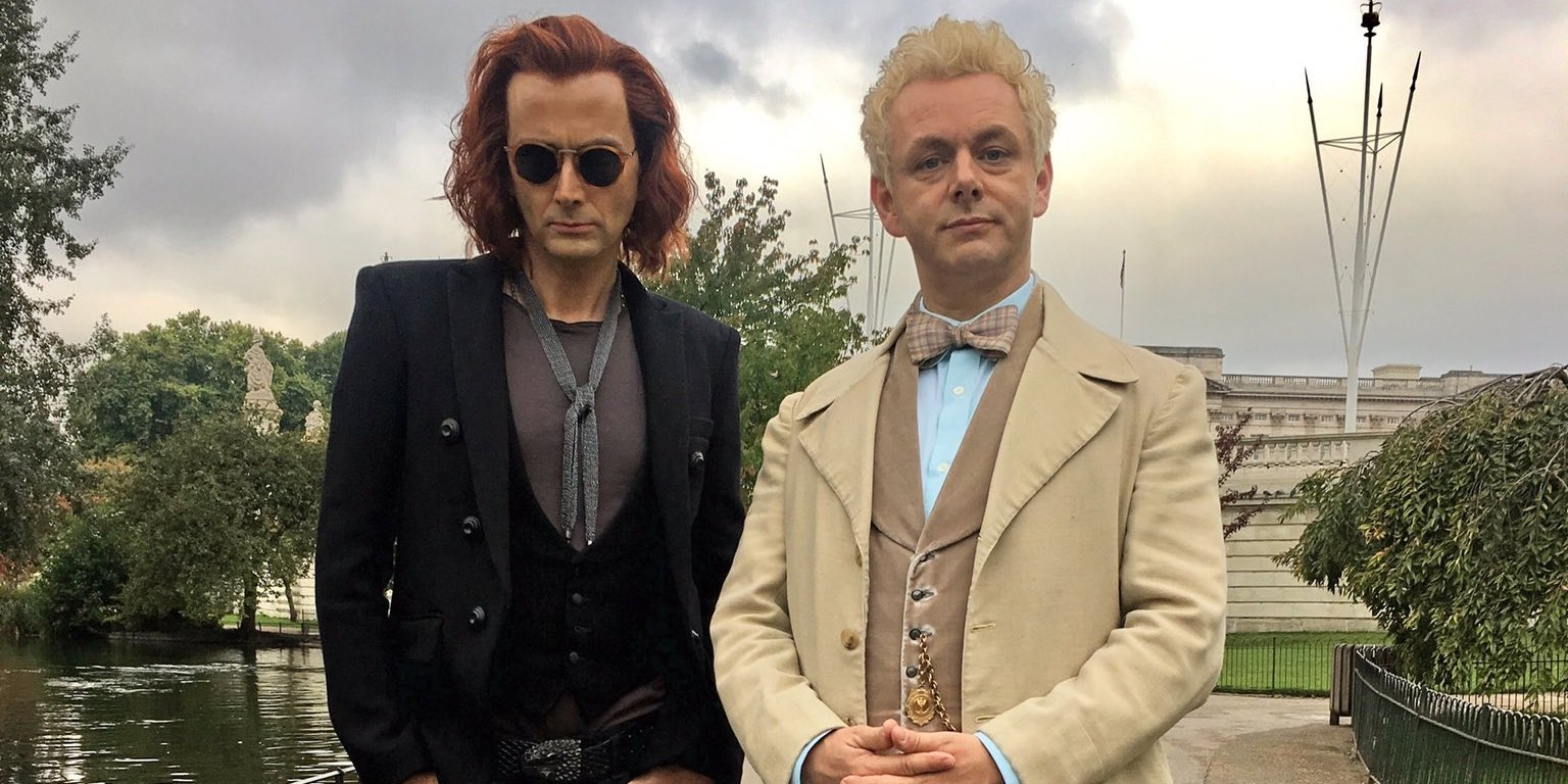 Good Omens First Look Image Arrives