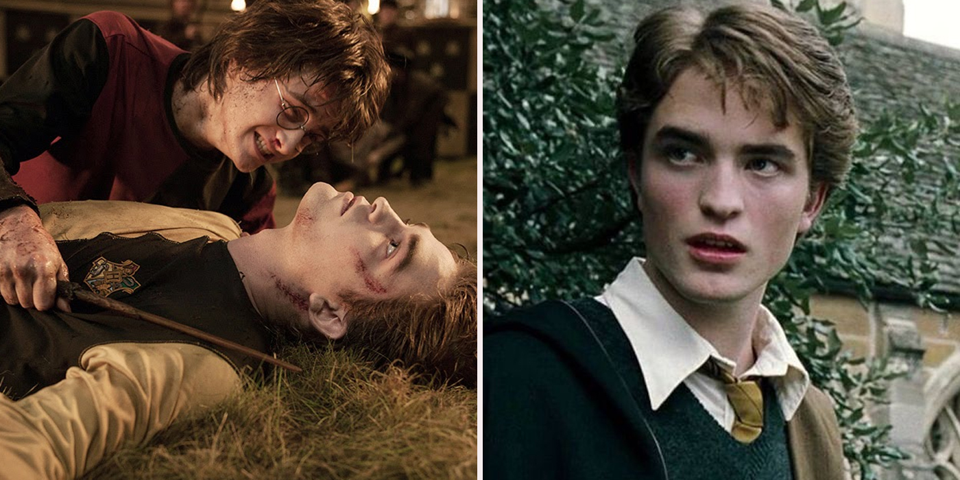 Harry Potter And The Goblet Of Fire Cedric Diggory Death Scene Harry Potter: Secret F...