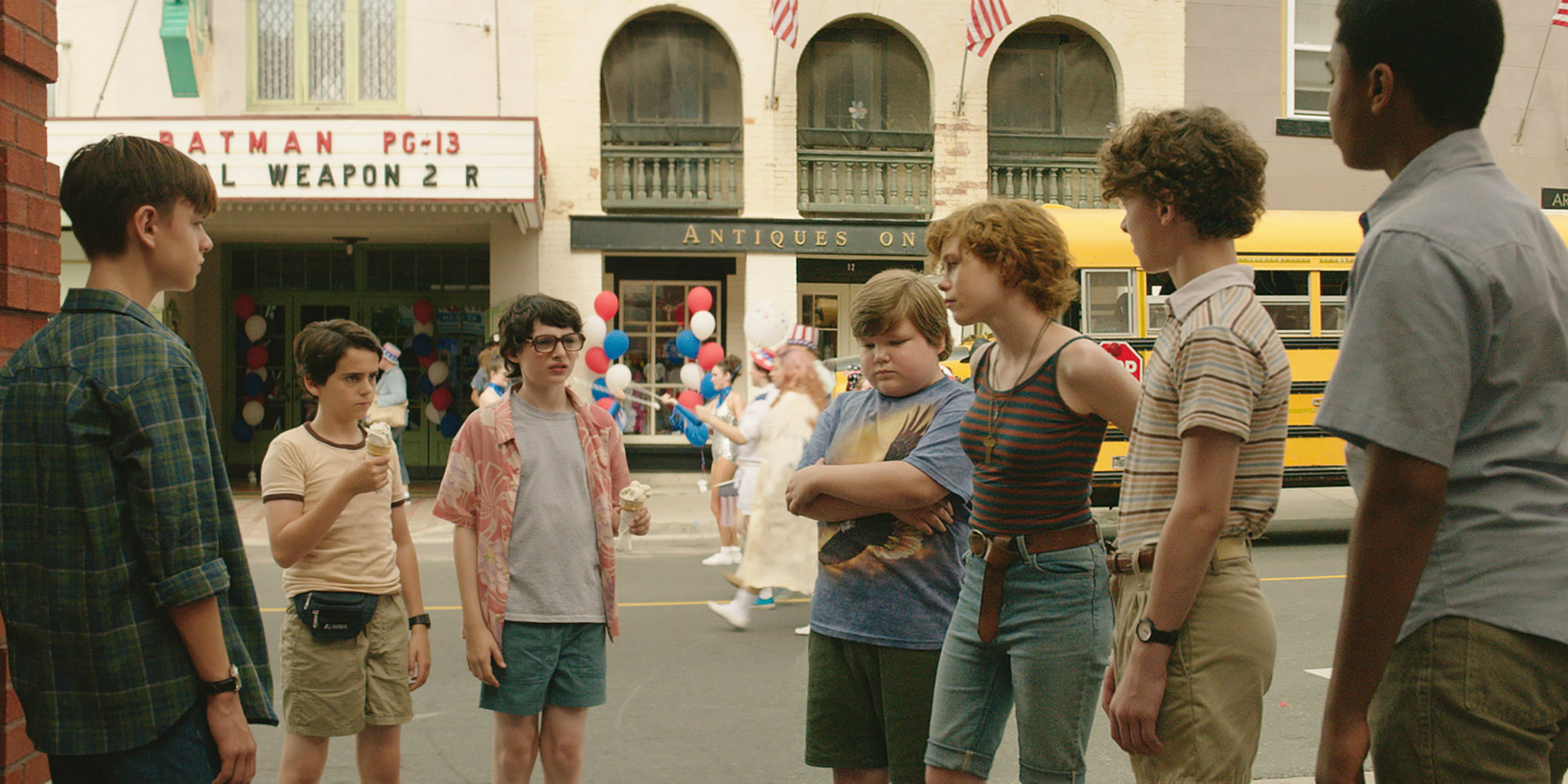 IT Movie Losers Club IT: Chapter 2 Should Keep The Budget Small