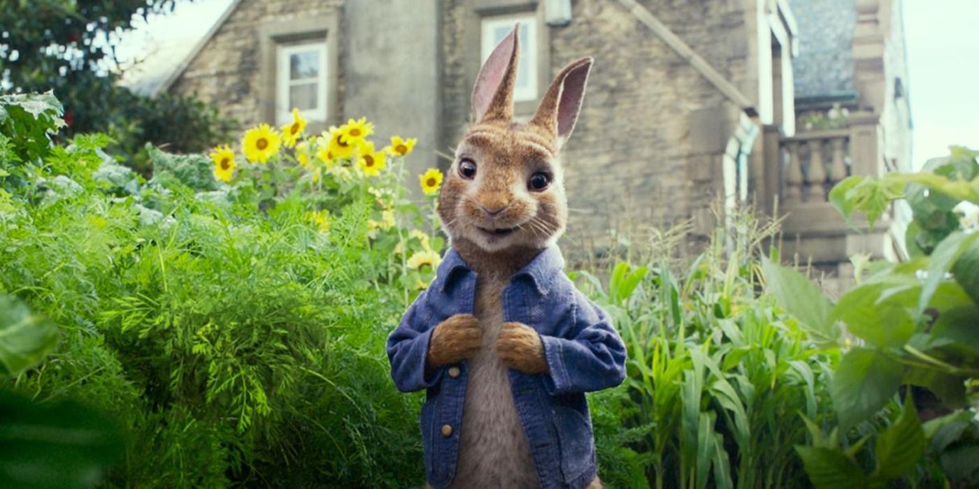 James Corden as Peter Rabbit