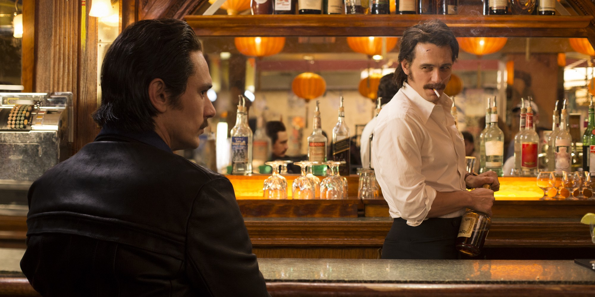 James Franco in The Deuce Series Premiere