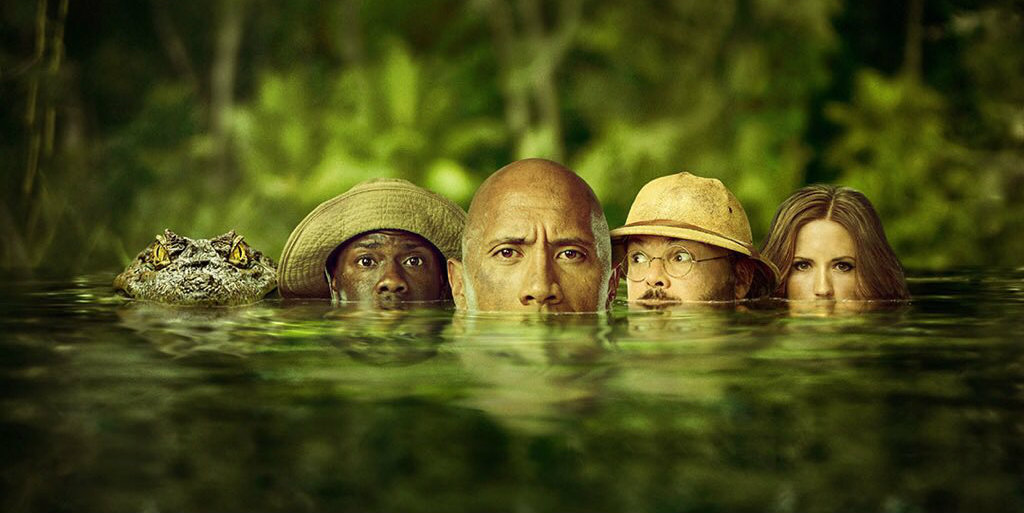 The Rock Shares Brand New Jumanji Movie Poster