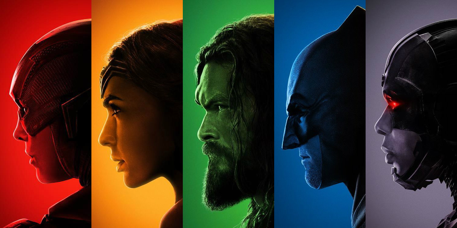 Justice League Gets a Colorful Set of Posters | Screen Rant Ben Affleck Rant
