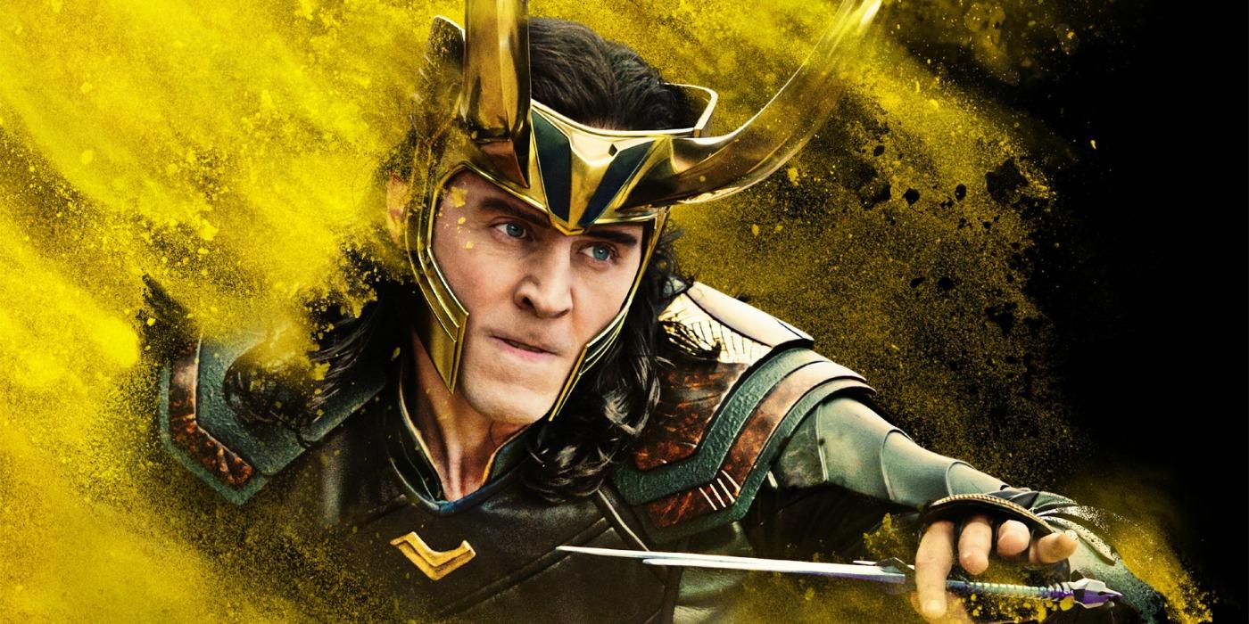 Thor Ragnarok Loki Poster Yellow