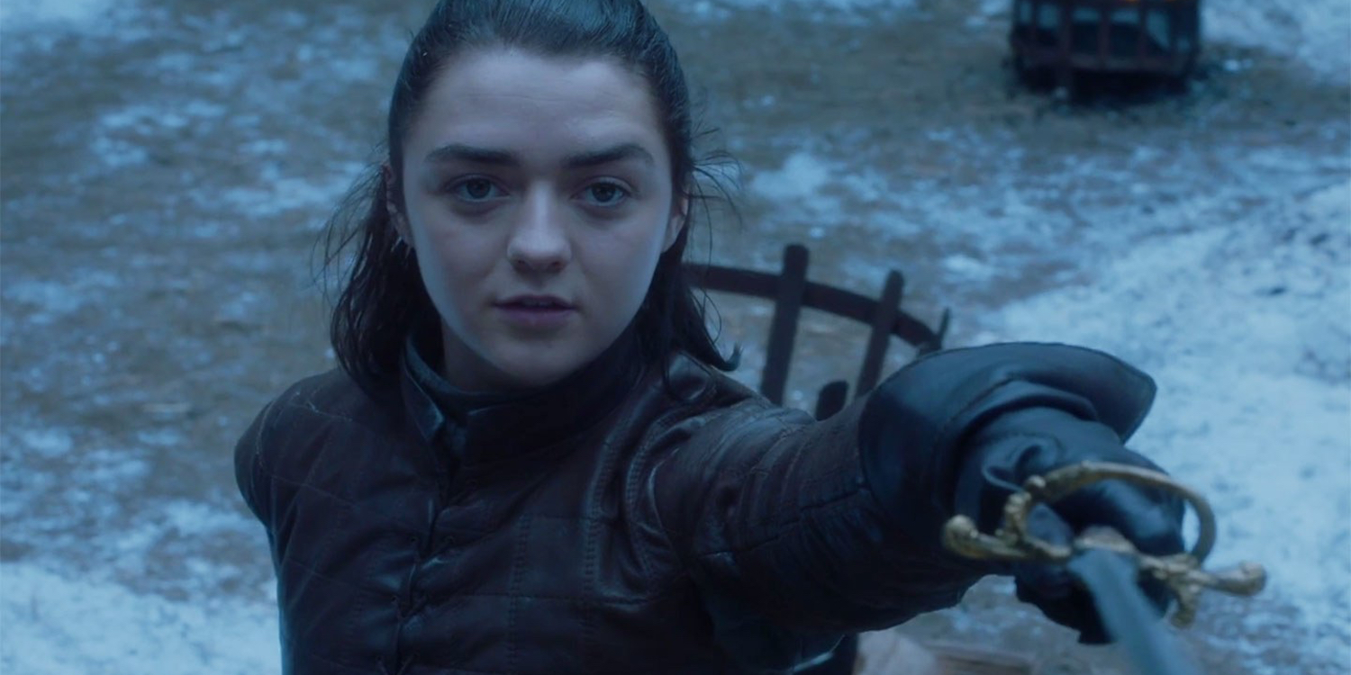 Maisie Williams Game of Thrones Season 7