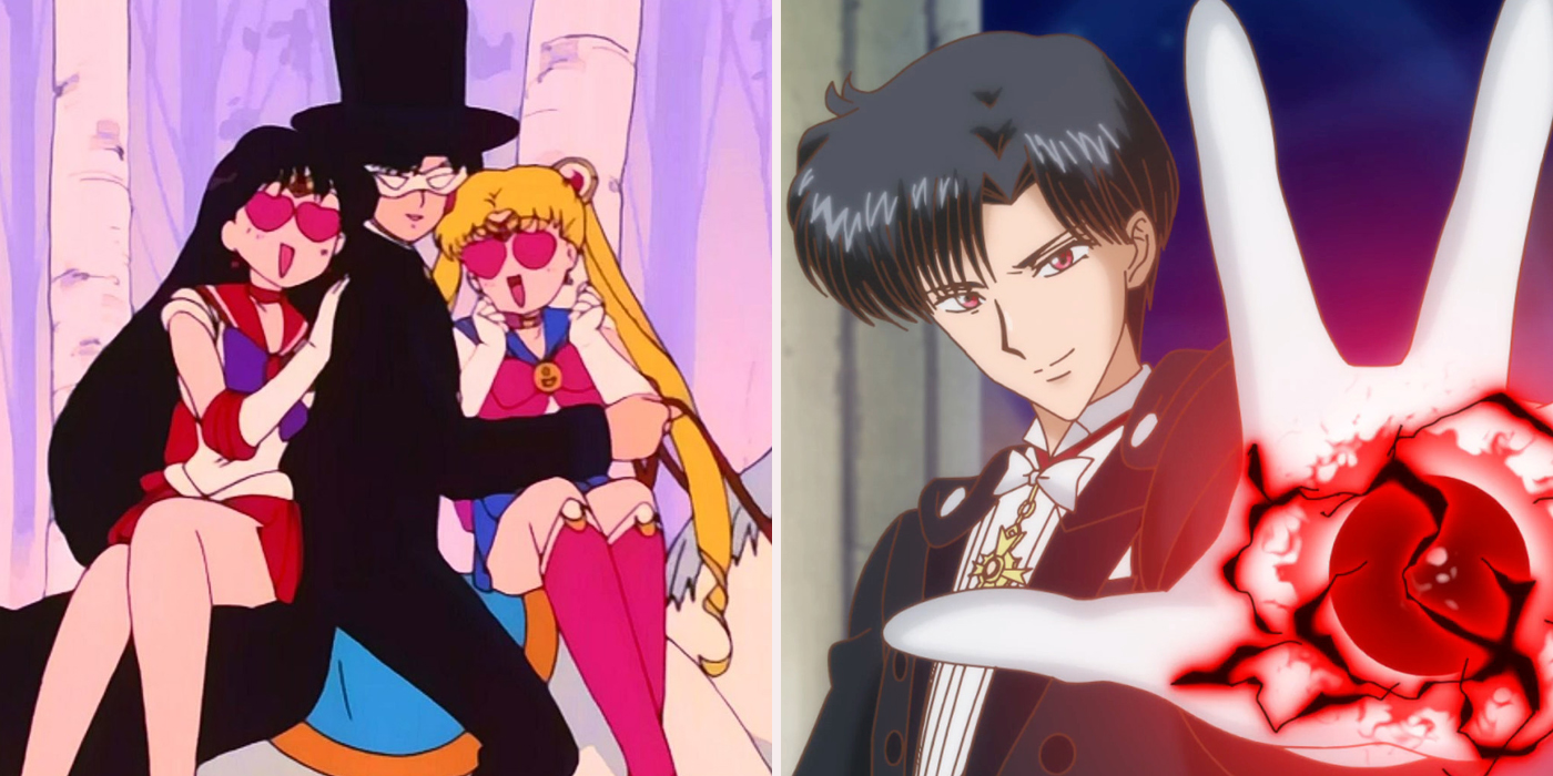sailor moon facts about tuxedo mask screen rant