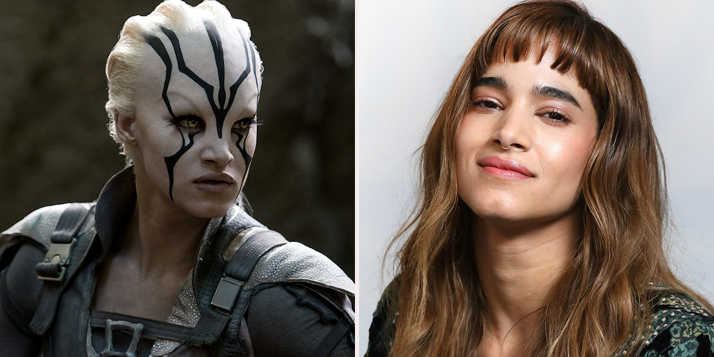 Star trek actors who look very different screen rant - Jaylah sofia boutella ...